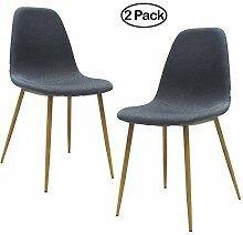 Ambiendi 2er Set Esszimmerstühle Design Stuhl