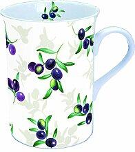 Ambiente Becher - Mug - Tasse Tee / Kaffee Olives