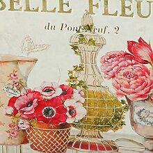 Ambiente Haus Übertopf Fleur-Tasche aus Metall