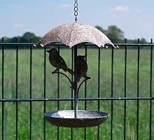 Ambiente Haus Vogeltränke Einheitsgröße grau