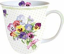 Ambiente Porzellan Becher Bone China, Mug, Tasse,