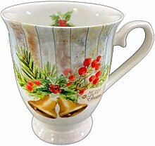 Ambiente Porzellan Becher ca. 250ml für Kaffee