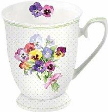 Ambiente Tasse Bunch of Violets 0,25 Liter feines