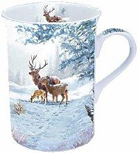 Ambiente Weihnachten Deer Familie Winter Tasse