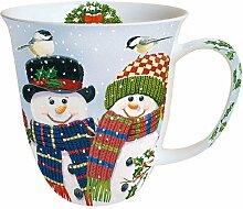 Ambiente Weihnachten Tasse Happy Holidays
