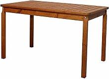 Ambientehome 90472 Gartentisch Tisch Massivholz