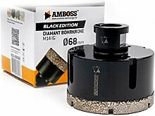 Amboss 68 mm Diamant Bohrkrone M14 - BLACK EDITION