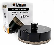 Amboss - Diamant Bohrkrone 132 mm (M14) für