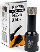 Amboss - Diamant Bohrkrone 14 mm (M14) für