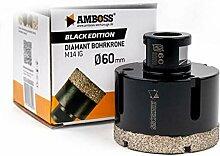 Amboss - Diamant Bohrkrone 60 mm (M14) für