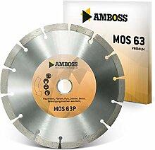 Amboss MOS 63P - Diamant-Trennscheibe für