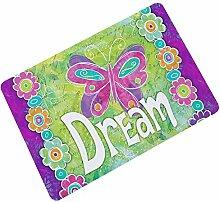 AMDXD Gummi Teppich Traum Design Teppiche für