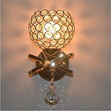 AMENYU Modernen minimalistischen Luxus kristall Wandleuchte salon Esszimmer Bett gang Spiegel, 120mm