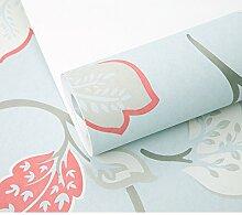 American Blume Tapete im Wohnzimmer/TV Kulisse Tapete/Schlafzimmer moderne Garten Tapete/Vliestapete-A