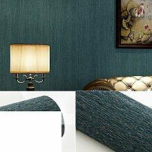 American Country einfarbigen Tapete TV Kulisse Tapete Schlafzimmer Wohnzimmer Tapete-E