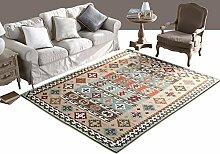 American Country Teppich Matratze Nachttisch Schlafzimmer Teppich ( größe : 76*150cm )