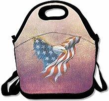American Eagle Convenient Lunch Box Tote Bag