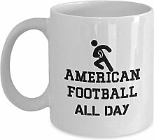 American Football All Day Coffee Mug Cup 11oz