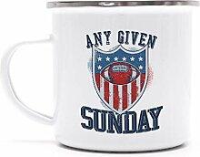 American Football Gruppen Fan bedruckte