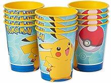 AMERICAN GREETINGS Pokemon-Kunststoffbecher für
