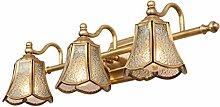 American Lamp Kupfer Retro Led American Spiegel