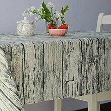 American Land Frische Blumen Tischdecke/Der Stil Von Einfachen Modernen Leinentuch Servietten-A 140x200cm(55x79inch)