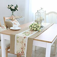 American modern lace table tuch,simple rechteckige tea table flag-B 30x200cm(12x79inch)