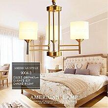 American Modern LED Kronleuchter Für Wohnzimmer