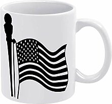 American Opposum, lustige Keramik-Kaffeetasse aus