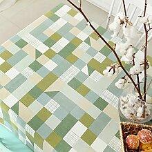 American pastoral bedruckte Tischdecke/ Westliche Tischdecke/ gepolstert Tischdecke/Tischdecke decke-B 130x130cm(51x51inch)