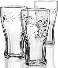 American Shop - Coca-Cola Relief-Glas 0,3 Liter,