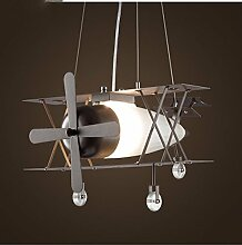 American Style Retro Air Industry Leuchter kreative Persönlichkeit Restaurant Net Kaffee Einzel - Leiter Eisen, Glas, Kleidung Shop-Lampen