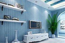 American Vintage Holzmaserung Vliestapete Hintergrund von blau Mediterrane Home Schlafzimmer Bett Wohnzimmer wall-papers, blau
