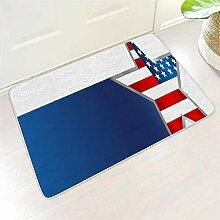 Amerikaner Flaggen-Spiegel Blau Draussen Innen