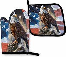 Amerikanische Adlerflagge S Amerikanische