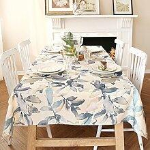 Amerikanische Baumwolle und Leinen Tischdecke Textur/Tischdecken/Tischdecke decke-B 90x130cm(35x51inch)