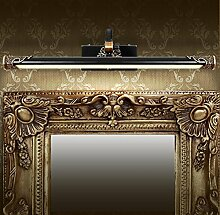 Amerikanische Bronze Spiegel Scheinwerfer Schminktisch Badezimmer Küche Lampe Europäische Bad führte Spiegel Schrank Lichter ( größe : 22cm*58cm )
