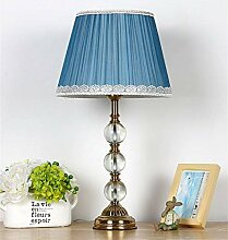 Amerikanische einfache Tischlampe Stoff Tischlampe