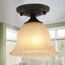 Amerikanische Eisenlampe Badezimmer Bad Umkleidekabine Deckenlampe Eingang Flur Europäische - Stil Lampe Mini - Deckenleuchten