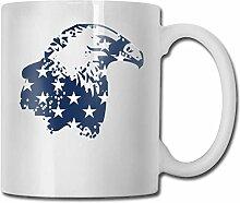 Amerikanische Flagge Weißkopfseeadler Mode