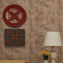 Amerikanische Holzmaserung Tapete Vlies schlichte Schlafzimmer Wohnzimmer TV Hintergrund Tapeten Großhandel , 1013