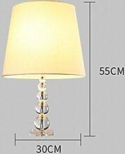 Amerikanische Landlampen Einfache Kinderzimmer Bett Nachttischlampen Luxus Kristall Dekoration Tischleuchten,EIN