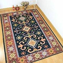 Amerikanische Lattice Mixed Couchtisch Europäische Nacht Bett Decke Einfache moderne Teppich ( größe : 200X250CM )