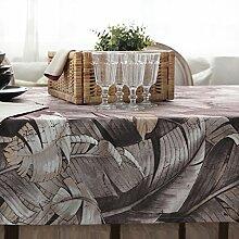 Amerikanische Mode Bedruckte Tischdecke/Tischtuch/Tischtuch-A 130*180cm(51x71inch)