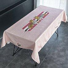 Amerikanische Pastorale Tischdecke Chenille Stoff