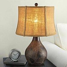 Amerikanische - Stil Lampe Retro Europäische Retro Imitation Klassische Schlafzimmer Schlafzimmer Nachttischlampe Chinesisch - Stil Massivholz Ar