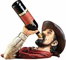 Amerikanische Weinregal Dekoration,Retro Kopf