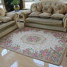 Amerikanische Wohnzimmer Couchtisch Sofa Mat Haushaltsgegenstände Teppich Sub - Schlafzimmer Bett Decke ( größe : 120X180CM )