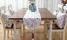 Amerikanischen Land Garten frisch und elegant Tischläufer ( farbe : # 1 , größe : 35*220cm )
