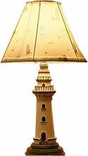 Amerikanischen mediterranen Leuchtturm Tischlampe